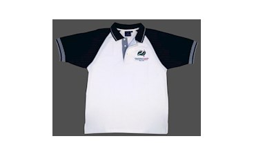Arboriculture Australia Men's White/Black Polo Shirt (X-Large)